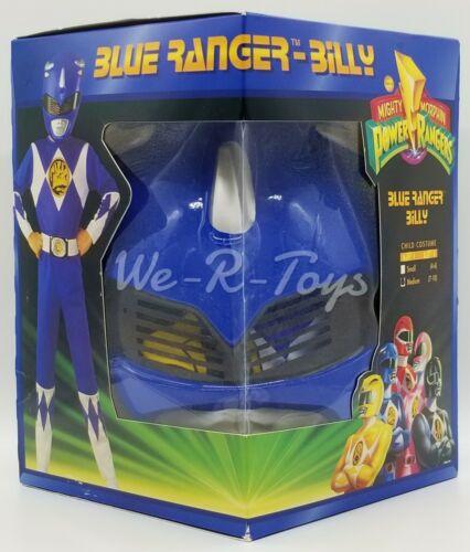 Power Rangers Blue Ranger Billy Child Costume Med 1994 Saban Mask Belt Bodysuit