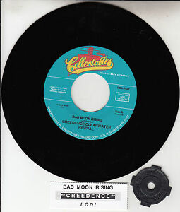 CREEDENCE-CLEARWATER-REVIVAL-Bad-Moon-Rising-Lodi-CCR-7-45-rpm-record-NEW