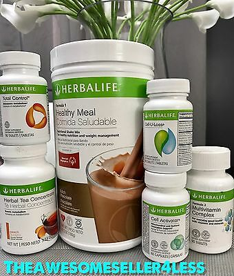 Herbalife Advanced Weight Loss Program  All Shakes   Tea Flavors  Available