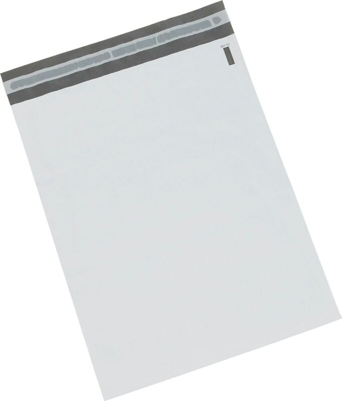 Staples Poly Mailers, 14 x 17, White, 500/Case CW56632