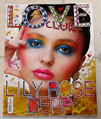 Love Magazine Lily Rose Depp Johnny Depp Daughter Kendall Jenner No15 Spr Sum 16