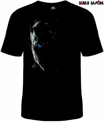 Buy cheap Game of Thrones Night King T-Shirt Cotton Unisex White Walker products