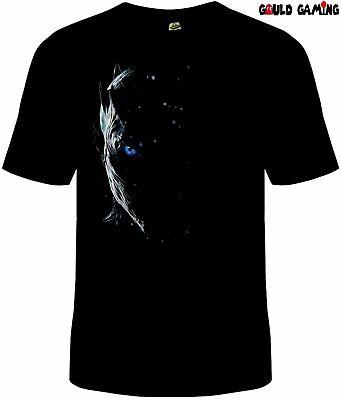 Game of Thrones Night King T-Shirt Cotton Unisex White Walker New  (White Walker)