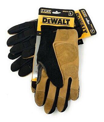 2 Pack Dewalt Dpg212 Performance Driver Hybrid Glove