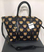 Borsa Moschino Teddy Bear Shopping Bag Orsetti Nero Tags Tracolla Originale - moschino - ebay.it