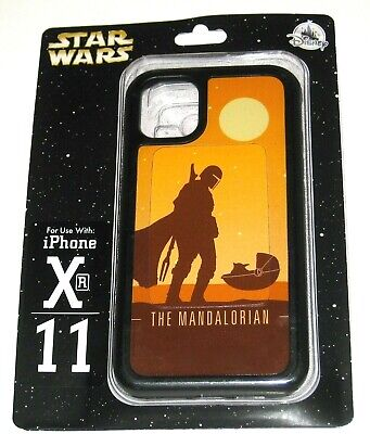 NEW Disney Parks Authentic iPhone Case Star Wars The Mandalorian XR 11 Baby Yoda