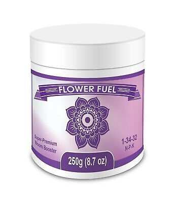 Flower Fuel 1-34-32, 250g - The Best Bloom Booster For Bigger, Heavier (Best Bloom Booster For Flowers)
