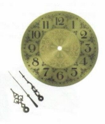 Stained Glass Supplies - BRASS CLOCK FACE-5inch (Free Shipping) for sale  Shipping to India