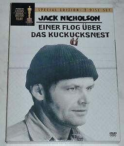 DVD: Einer flog über das Kuckucksnest (J. Nicholson) - 2 Disc Special Edition - <span itemprop='availableAtOrFrom'>Wien, Österreich</span> - DVD: Einer flog über das Kuckucksnest (J. Nicholson) - 2 Disc Special Edition - Wien, Österreich