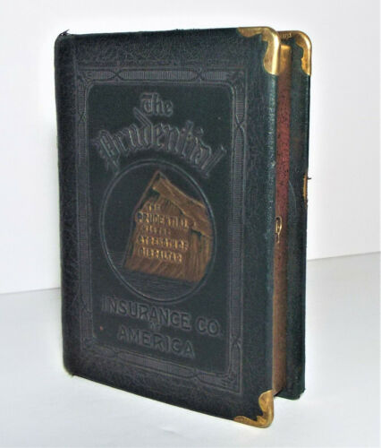 ANTIQUE PRUDENTIAL INSURANCE SAVINGS BOOK BANK