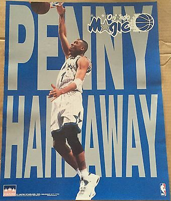 Penny Hardaway Letters Orlando Magic 16x20 Starline Poster OOP  (Magic Penny)