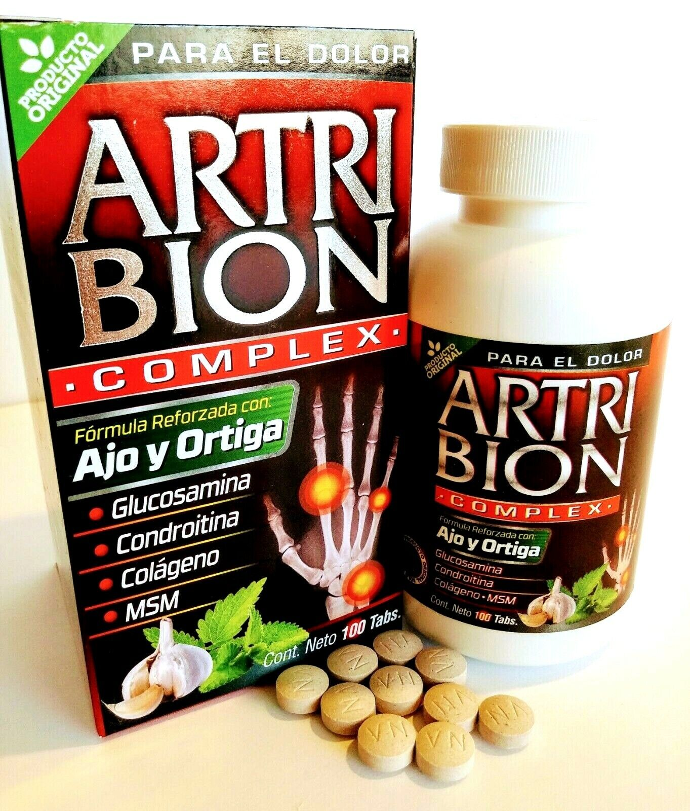 Artribion Complex Vida Natural Original 100 TABS.