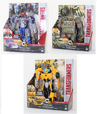 Transformers Turbo Changer, Bumblebee, Optimus Prime, Autobot Hound