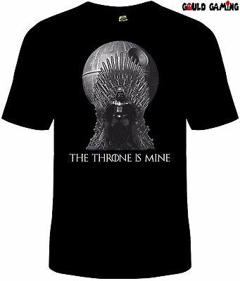 Game of Thrones Darth Vader T-Shirt Mens Star Wars Crossover New (Darth Vader T Shirt)