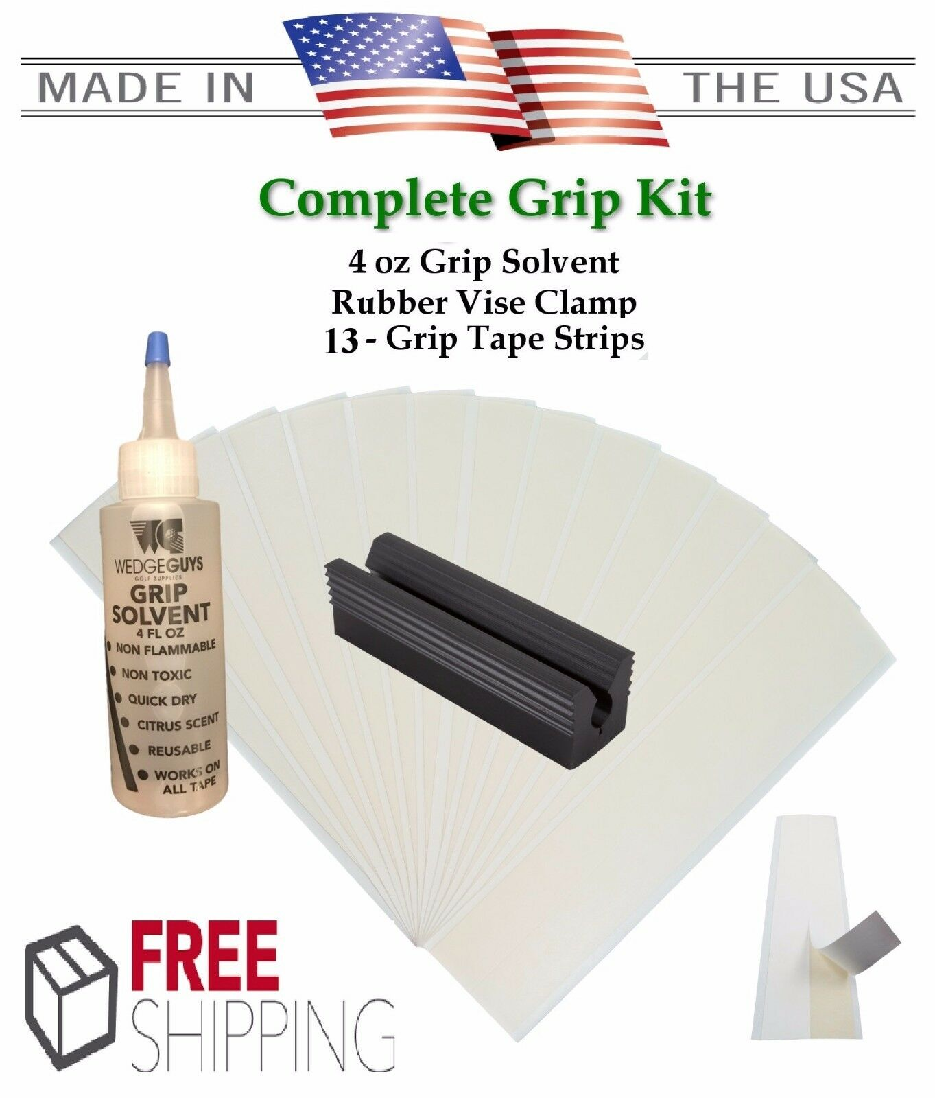 golf club grip kit 13 2 x10