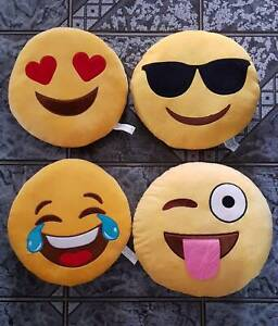 Emoji Cushions Sandstone Point Caboolture Area Preview
