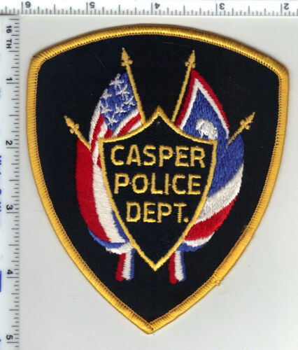 Casper Police (Wyoming) 2nd Issue Shoulder Patch