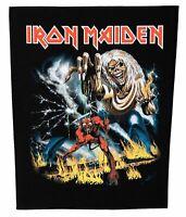 Iron Maiden  Number Of The Beast Rückenaufnäher  Backpatch Nordrhein-Westfalen - Gescher Vorschau