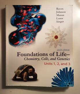 Foundations of Life Chemistry, Cells & Genetics 9th Edtn: Raven