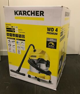 Karcher WD 4 Premium Multi-Purpose Vacuum Cleaner. Brand New in B