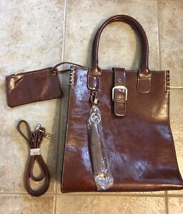 Leather Purse with Wallet  *Brand New