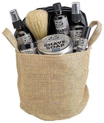 All Natural Gift Basket - Men's RR Metallic Mint Gift Basket All Natural by Fabulous Frannie