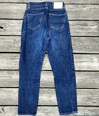 TAKAHIROMIYASHITA The Soloist Blue Jeans Tag Size 30 Actual Size 28x28