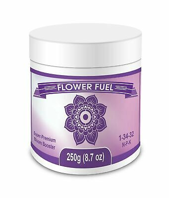 Flower Fuel 1-34-32 250g - The Best Bloom Booster For Bigger Heavier (Best Bloom Booster For Flowers)