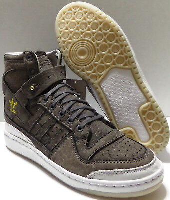 7555a11f1c3 New Men s ADIDAS Forum Hi Crafted Charles Stead BW1253 Originals Sneaker  Size 9