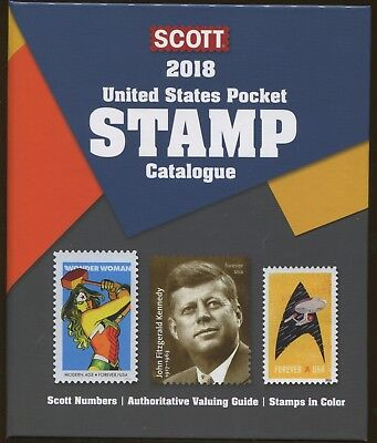 New 2018 Scott United States US Pocket Stamp Catalogue Retail $32.50