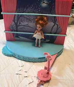 BARBIE Ballerina and STAGE set