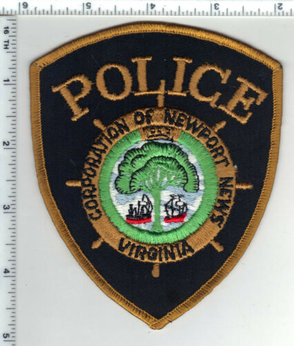 Newport News Police (Virginia) 1st Issue Shoulder Patch