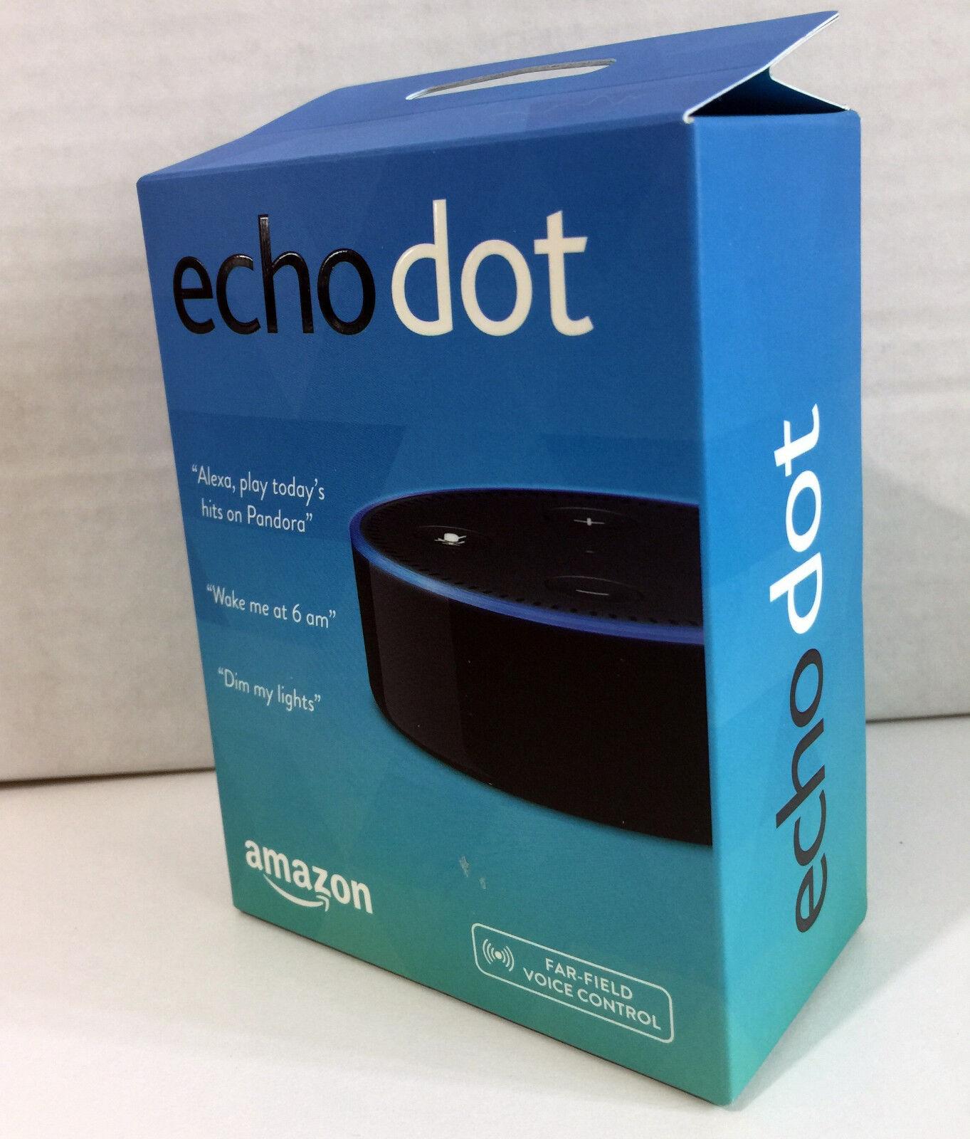 Amazon Echo Dot 2nd Generation w/ Alexa Voice Media Device - Latest Version