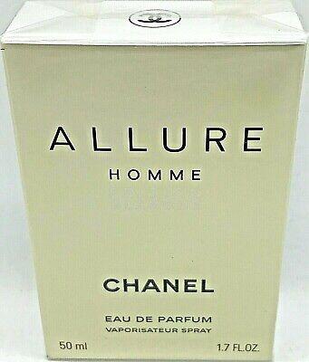 CHANEL ALLURE HOMME ÉDITION BLANCHE Eau de Parfum Spray 50 ml OVP/NEU