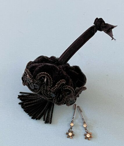 Vintage Doll Accessory: Madame Alexander Cissy Portrait Jewelry Earrings & Purse