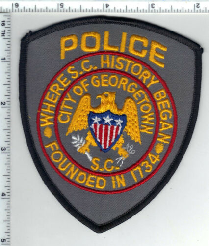 City of Georgetown Police (South Carolina) Shoulder Patch from the 1980