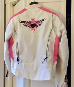 Woman's textile motorcycle jacket