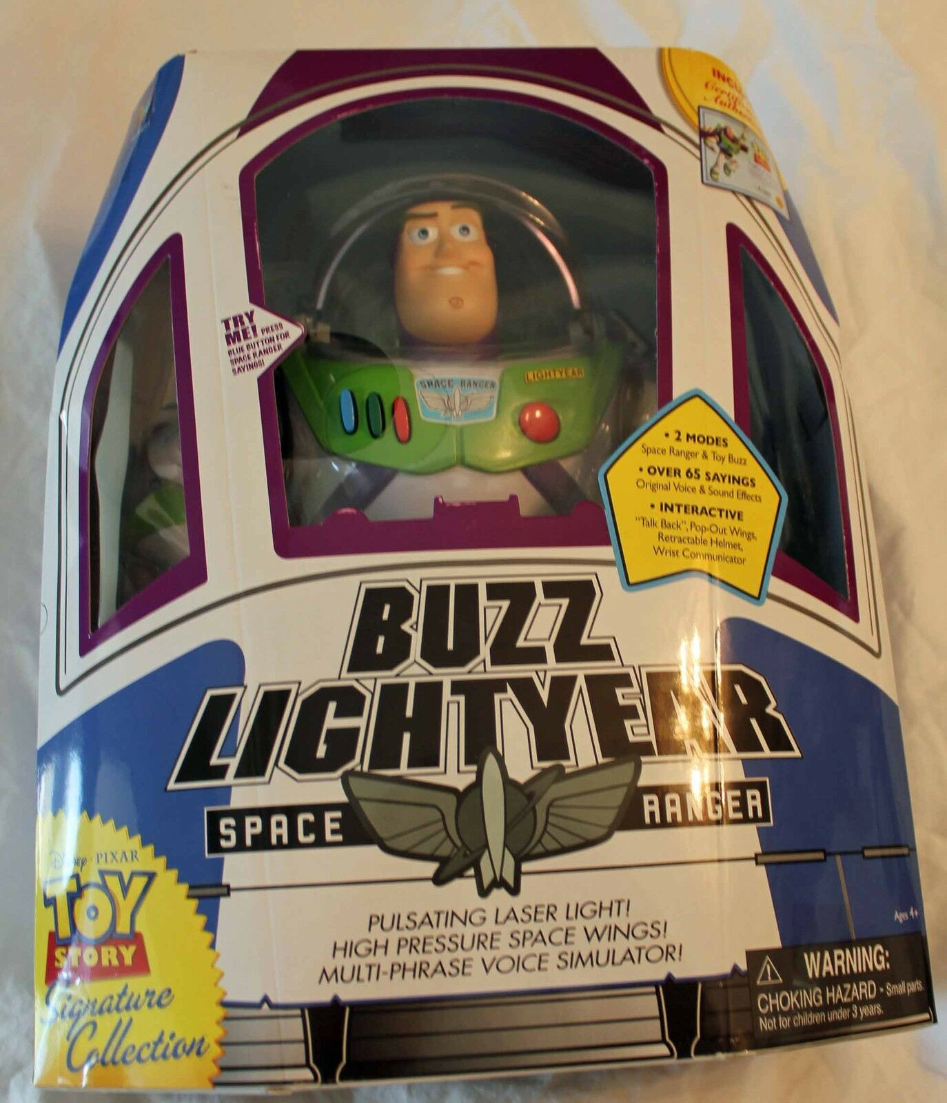 Toy Story Signature Collection 12' Talking Collector Buzz Lightyear
