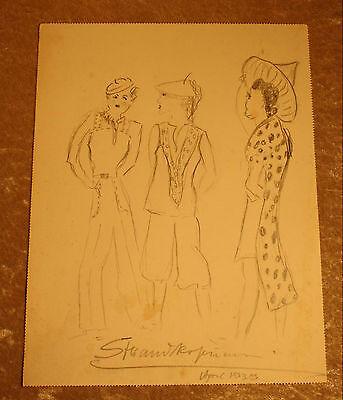 Strandkostüm. Entwurf von Lore Herrmann, 1939 (Herr Mann Kostüm)