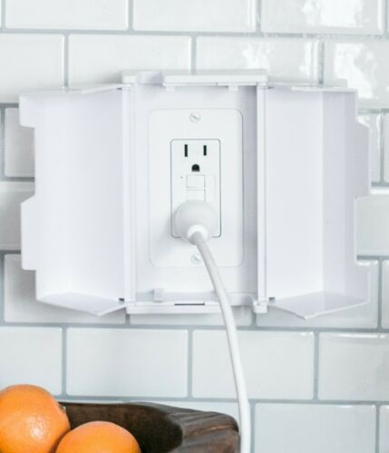 Electrical Outlet Cover Box for Child Safety and Protection by Jool Baby