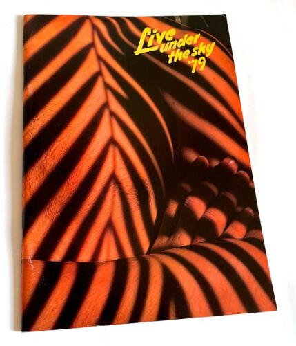 LIVE UNDER THE SKY 1979 JAPAN TOUR BOOK V.S.O.P. CHICK COREA HERBIE HANCOCK JAZZ