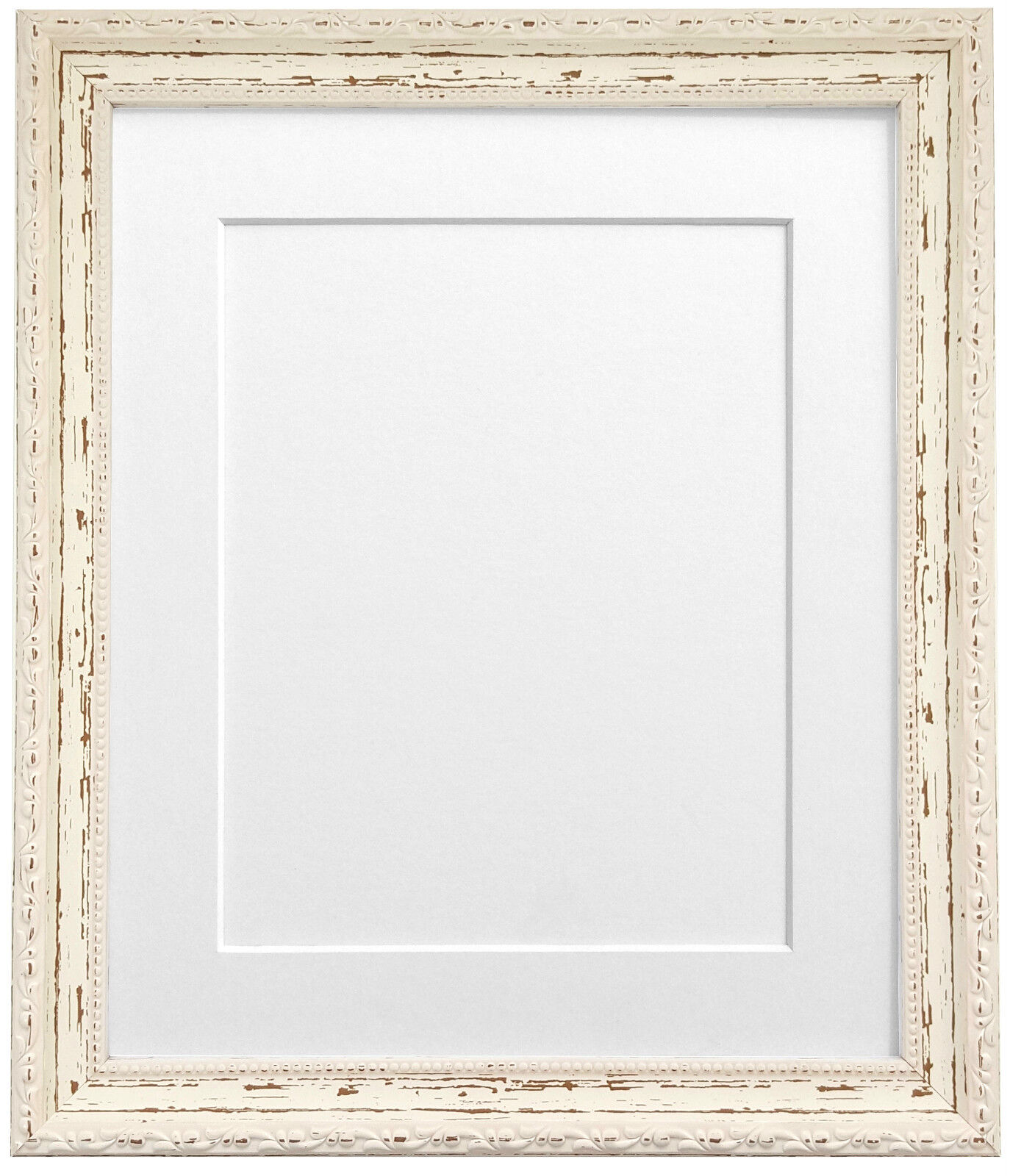 Old Fashioned Distressed White Picture Frames Photos - Picture Frame ...