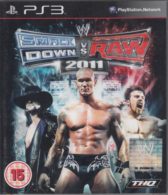 WWE SmackDown vs. Raw 2011 Sony PlayStation 3 Brand New Sealed Wrestling PS3