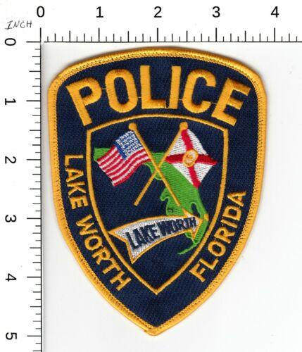 LAKE WORTH FLORIDA POLICE SHOULDER PATCH FL