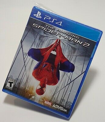 NEW The Amazing Spider-Man 2 (Sony PlayStation 4, 2014) Damaged Case & Cover Art