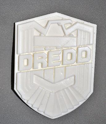 Judge Dredd 3d 1:1Scale Movie Replica Badge Resin Raw Cast - Halloween costume - Dredd Costume Halloween
