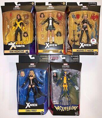 Marvel Legends DANI MOONSTAR, STEPFORD CUCKOOS, MAJIK, EMMA FROST & WOLVERINE