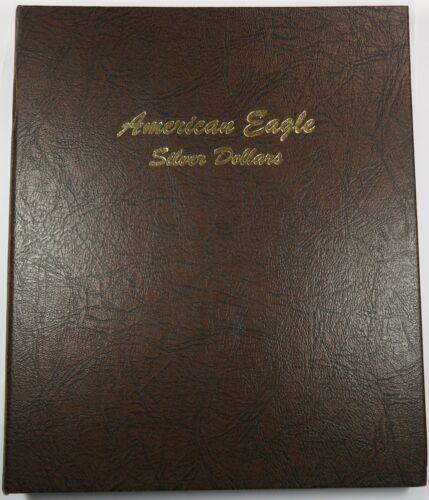 Dansco Album 7181 American Eagle Silver Dollars 1986-1935 Coin Book Item #26163T