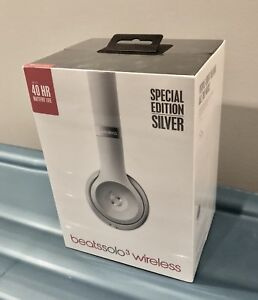 Beats Solo3 Wireless  Brand New (Sealed) Special Edition Silver