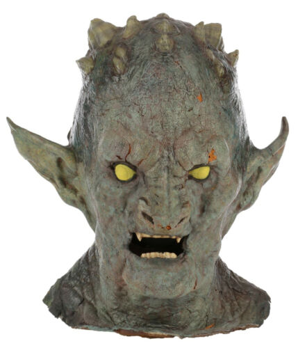 Demon Prosthetic Mask from Buffy the Vampire Slayer Prod Photos and Call Sheet